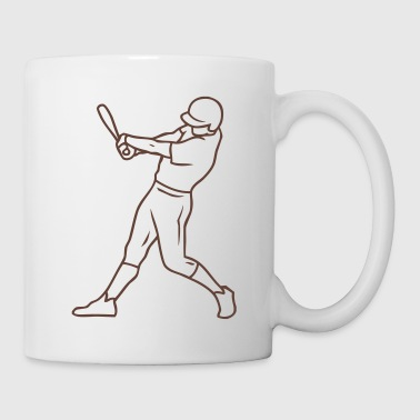 baseball hitter - Coffee/Tea Mug