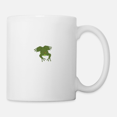 Reptile Frog Fully Rely On God - Mug