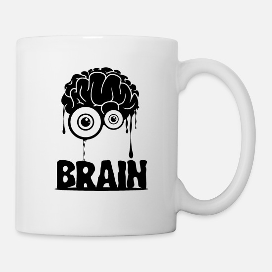 Gift Idea Mugs & Drinkware - BRAIN - Mug white