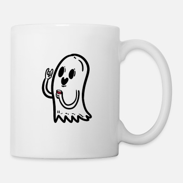 Bloody Halloween Ghost Creepy Spooky Scared Horror Party - Coffee/Tea Mug