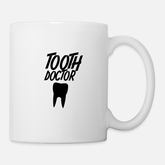 Dental Mugs & Drinkware - Teeth Dentist Dentistry - Mug white