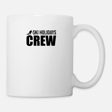 Skiing Holiday Ski Holidays Crew - Mug