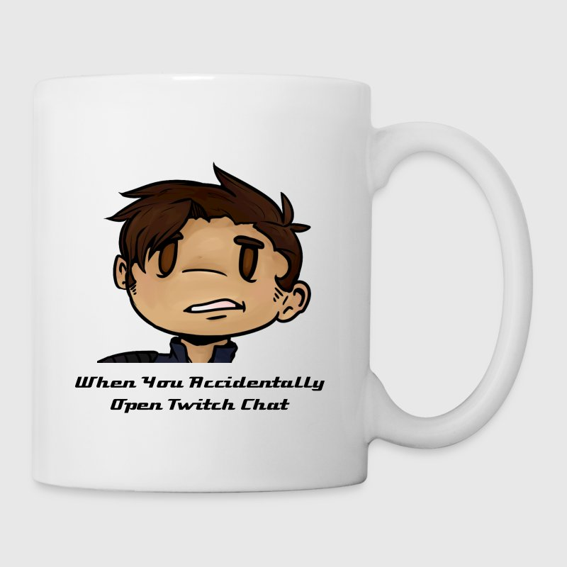 The Twitch Chat Reaction Mug - Coffee/Tea Mug