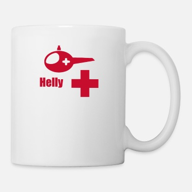 Helicopter Helicopter Ambulance funny tshirt - Coffee/Tea Mug