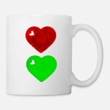 Traffic heart traffic light t - Mug
