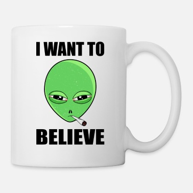 I want to believe - Coffee/Tea Mug