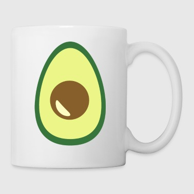 Avocado on the heart - Coffee/Tea Mug
