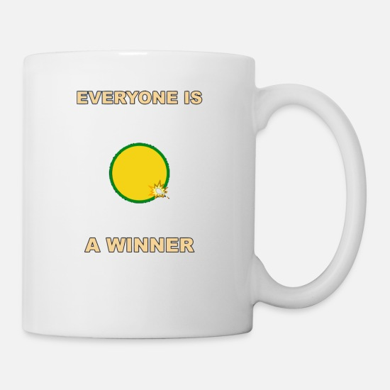 Game Mugs & Drinkware - Everyone is a Winner - Mug white