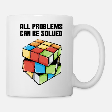Rubiks Cube Pixel art rubik - Coffee/Tea Mug