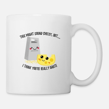 This Might Sound Cheesy I Think You're Grate - Coffee/Tea Mug