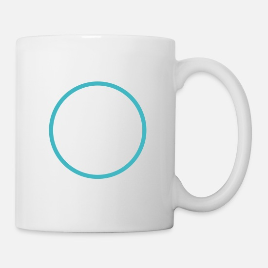 Ring Mugs & Drinkware - circle - Mug white