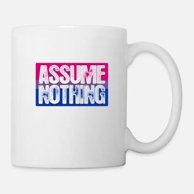 Bisexual Assume Nothing Bisexual Pride Flag - Coffee/Tea Mug