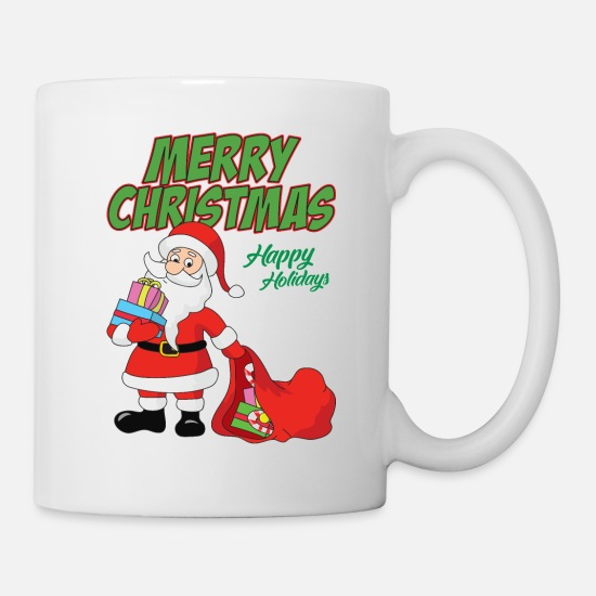Funny Cool Cute Santa Claus Christmas Xmas Gifts Mug Spreadshirt