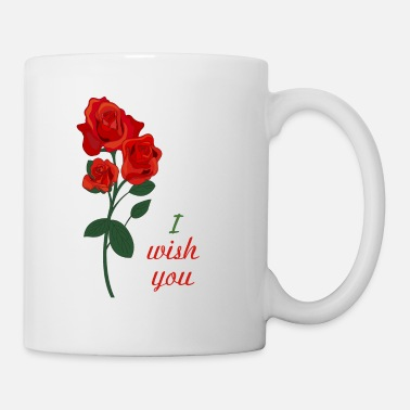 Red Rose red rose - Coffee/Tea Mug