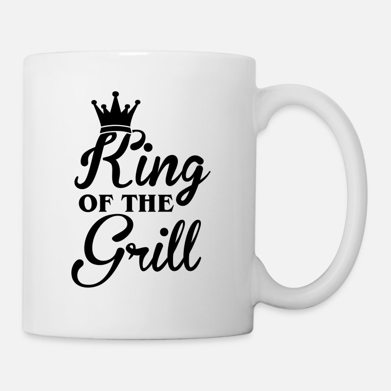 Bbq Grillen Mugs & Drinkware - King of the Grill - Mug white