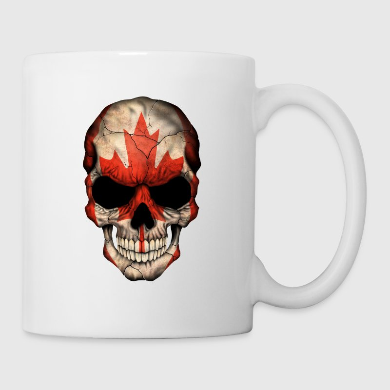 Canadian Flag Skull - Coffee/Tea Mug