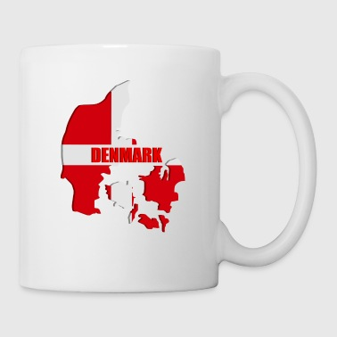 Denmark map - Coffee/Tea Mug