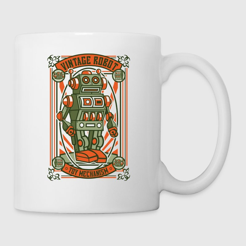 Vintage Toy Robot - Coffee/Tea Mug