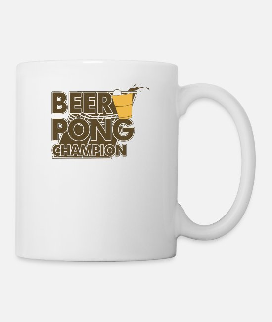 Movie Mugs & Cups - Beer Pong - Mug white