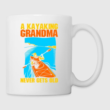 Old A Kayaking Grandma Never Gets Old - Coffee/Tea Mug