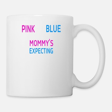 England Pink or blue Mommy is expecting number 2 new - Coffee/Tea Mug
