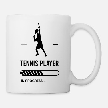 Australian Open tennsiplayer in progress - Coffee/Tea Mug