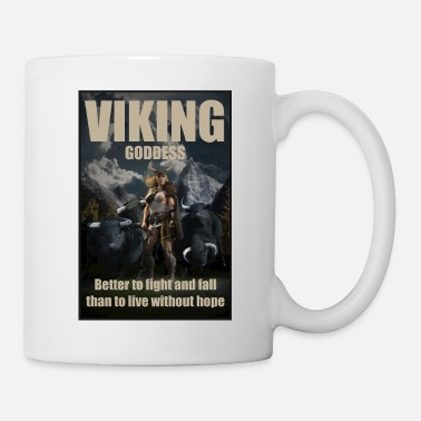 Sweden Viking Goddess - Viking warrior - Mug
