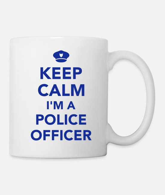 Office Mugs & Cups - Police officer - Mug white
