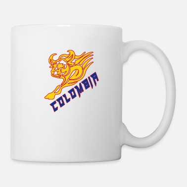 Colombia Colombia bull with national colors / present - Mug