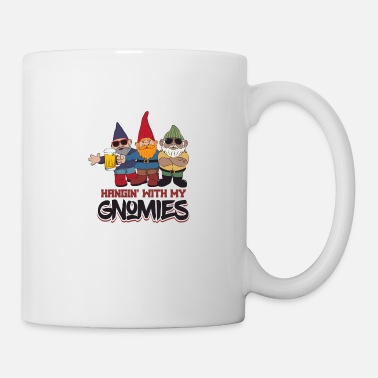 Florals Hangin' With My Gnomes - Mug