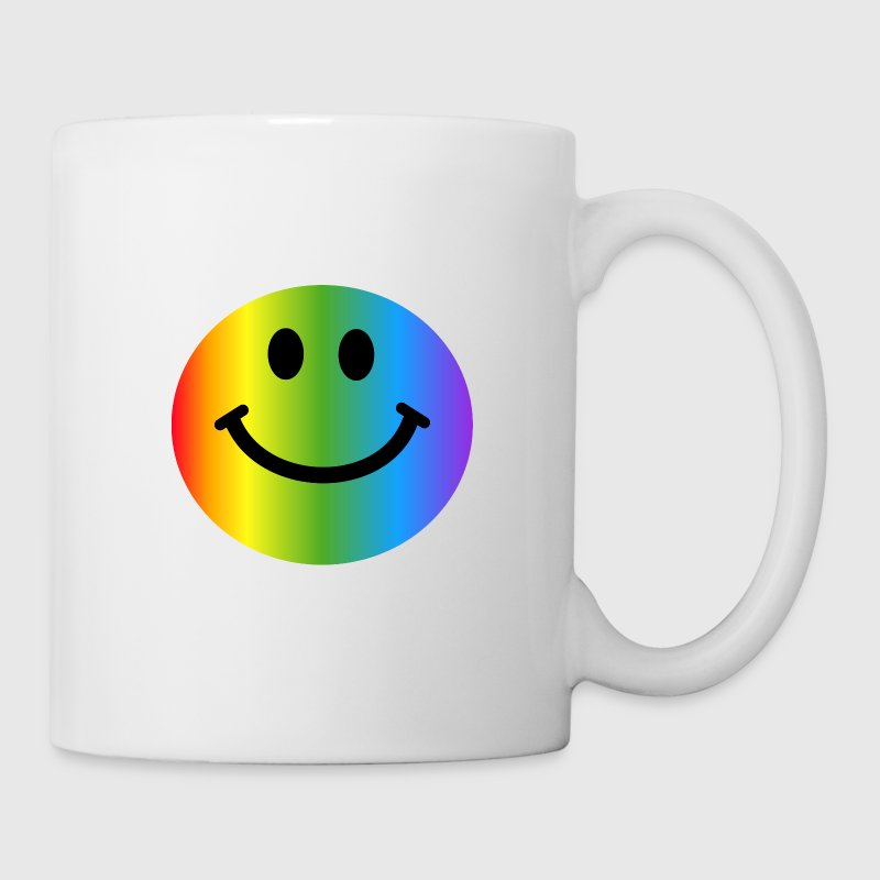 Rainbow Smiley Face - Coffee/Tea Mug