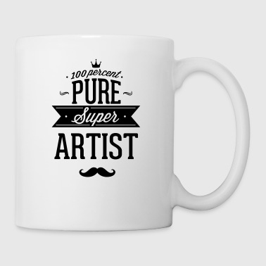 100 percent of pure Super artist - Coffee/Tea Mug
