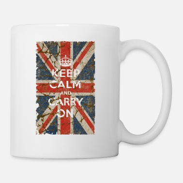 Calm UK Flag and Keep Calm, Hybrid - Coffee/Tea Mug