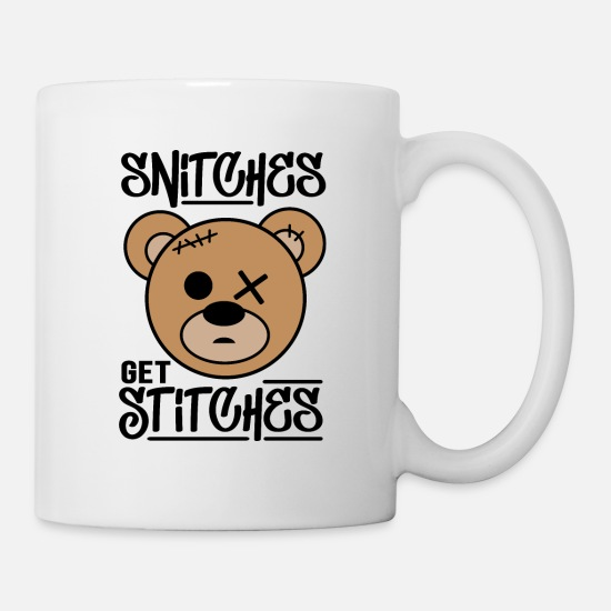 Snitches Get Stitches Mugs & Drinkware - Snitches get Stitches - Mug white