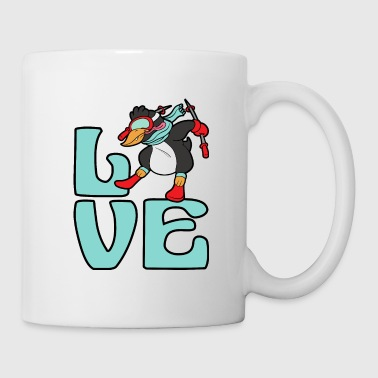 Penguin Ski Skiing Freestyle Winter Sports Snow - Coffee/Tea Mug
