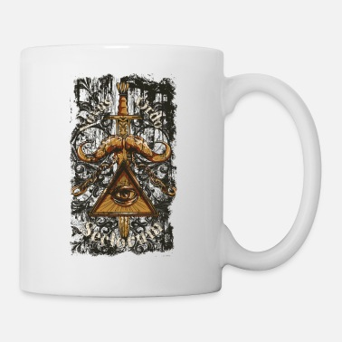 Mythical NOVUS ORDO SECLORUM - new order of the ages eye - Mug