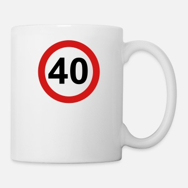40s 40 - Coffee/Tea Mug