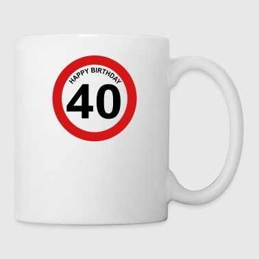 40th birthday - Coffee/Tea Mug
