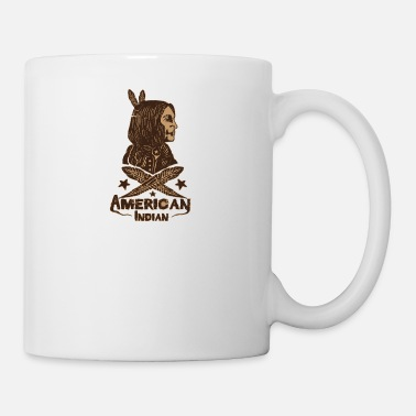 American Indian american indian - Coffee/Tea Mug