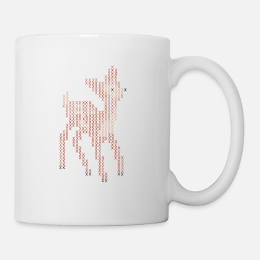 Stitch Cross Stitch Little Deer - Mug