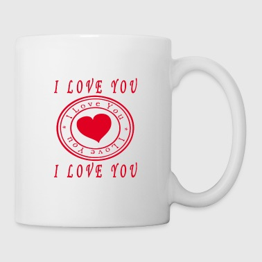 i love you.I LOVE YOU - Coffee/Tea Mug