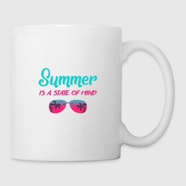 Shade summer is a state of mind - gift idea - Coffee/Tea Mug