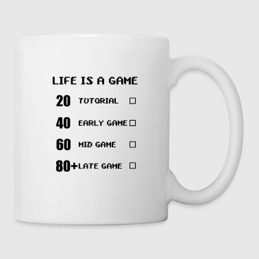 Computer life is a game - Coffee/Tea Mug