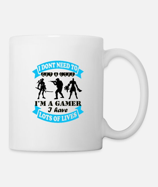 Video Game Mugs & Cups - Gaming - Mug white