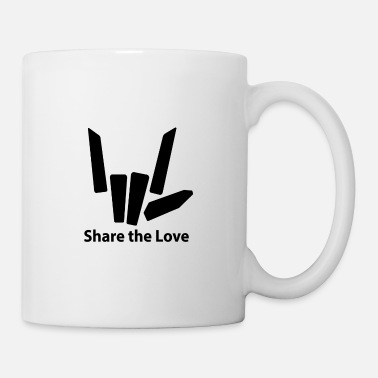 Love SHARE THE LOVE 002a - Mug