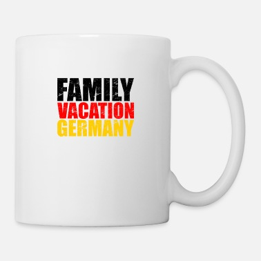 Beer Family goes on vacation & holiday to Germany - Mug