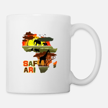 Savanna Safari Africa Sunset - Mug