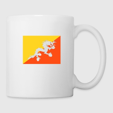 Bhutan Flag of Bhutan (bt) - Coffee/Tea Mug