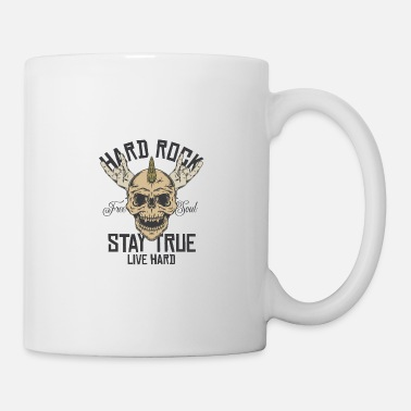 Shouter Hard Rock Stay True Live Hard Rockstar Heavy Metal - Mug