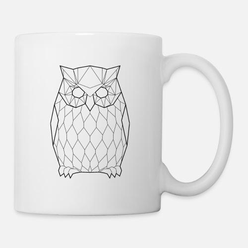 8fb6ff58be Black Owl - Animal Prism Mug